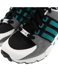 Adidas | Black Equipment Support 93 for Men | Lyst
