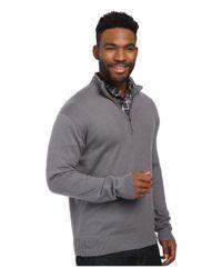 Woolrich | Gray Highlands Half Zip Sweater for Men | Lyst