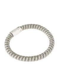 Carolina Bucci - Metallic Twister Bracelet Silver - Lyst