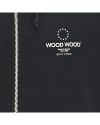 WOOD WOOD | Blue Mens Horatio Hoodie for Men | Lyst