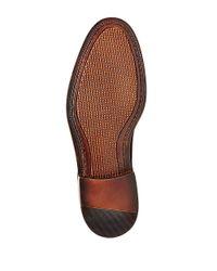 Steve Madden Black Beckon Leather Chukka Boots for men