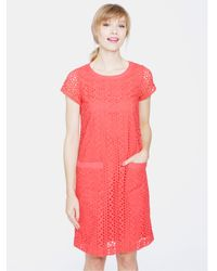 Joules Red Madeline Dress