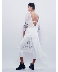 Free People | White Womens Bali-artic Hearts Top | Lyst