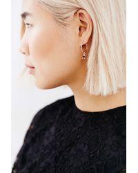 HLSK | Metallic Aethfel Earring | Lyst