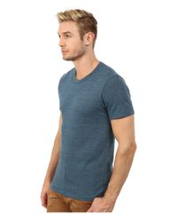 Alternative Apparel - Blue S/s Crew Tee for Men - Lyst