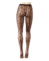 Wolford - Black Lilie Tights - Lyst