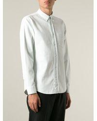 Acne Studios - Blue 'Isherwood' Denim Shirt for Men - Lyst