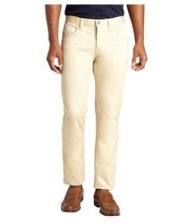 Gucci | Natural Khaki Denim Twill Button Fly Skinny Jeans for Men | Lyst