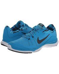 Nike | Blue Flex Trainer 5 Print | Lyst