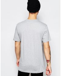 Adidas Originals Gray Trefoil T-shirt Ab7533 for men