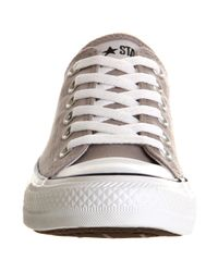 Converse Brown All Star Ox Low Greynavy Blue Canvas Exclusive for men