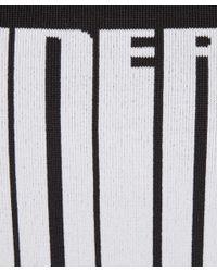 Alexander Wang - Black Barcode Logo Jacquard Knit Sweatshirt - Lyst