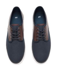 H&M Blue Sneakers for men