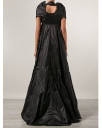 67856cffd2d7 Lyst - KTZ Zip Front Flared Evening Dress in Black