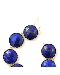 Irene Neuwirth - Blue Rose Cut Lapis Bracelet - Lyst