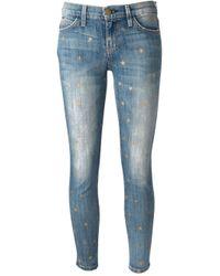 Current/Elliott Blue Star Jeans
