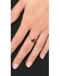 Astley Clarke - Metallic Rose Garnet Stilla Ring - Lyst