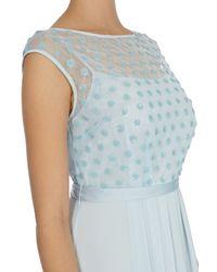Coast Blue Lori Lee Cluster Maxi Dress