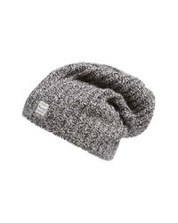Madewell | Gray Ribbed Beanie | Lyst
