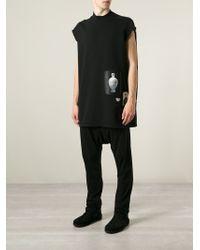 DRKSHDW by Rick Owens | Black 'Jumbo' Printed Sweatshirt for Men | Lyst