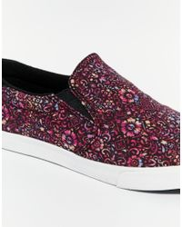 Gola Black Delta Liberty Slip On Sneakers