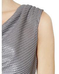 Vivienne Westwood | Metallic Lurex Knit Dress | Lyst