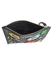 Karl Lagerfeld - Multicolor Karl Around The World Pouch - Lyst