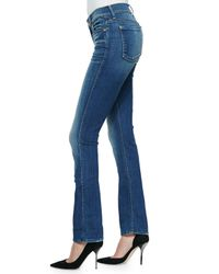 7 For All Mankind | Blue The Modern Straight-Leg Jeans | Lyst