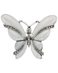 John Lewis | Metallic Pearl Butterfly Brooch | Lyst