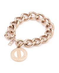 Tommy Hilfiger | Metallic Chain Link Bracelet | Lyst