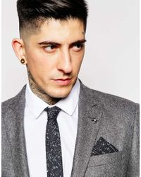 Minimum | Black Tie And Pocket Square for Men | Lyst