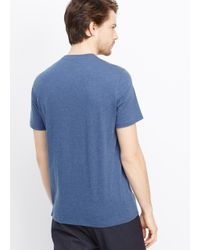 Vince - Blue Favorite Jersey Crew Neck Tee for Men - Lyst