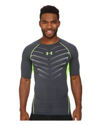 Under Armour | Gray Ua Heatgear® Armour Exo S/s Compression Shirt for Men | Lyst