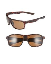 Nike | Brown 'premier 8.0' 63mm Sunglasses for Men | Lyst