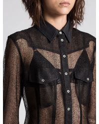 DIESEL | Black 't-serra-a' T-shirt | Lyst