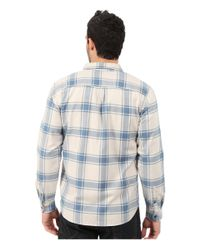 Quiksilver Blue Sierra Long Sleeve Woven Shirt for men