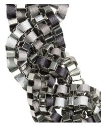 H&M | Metallic Braided Necklace | Lyst