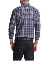 BOSS Orange - Blue 'califoe' | Slim Fit, Cotton Button Down Shirt for Men - Lyst