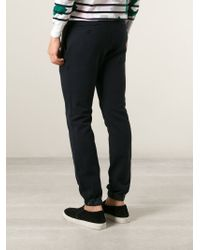 Sacai - Blue Tapered Track Pant for Men - Lyst