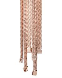 Rosantica By Michela Panero - Pink Nefertiti Gold-Plated Necklace - Lyst