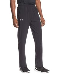 Under Armour | Black 'launch' Woven Pants for Men | Lyst