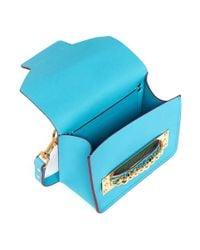 Sophie Hulme - Blue Mini Chain Envelope Shoulder Bag - Lyst
