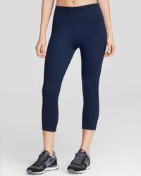 Spanx Blue ® Structured Capri Leggings