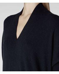 AllSaints Black Blaize Jumper Dress
