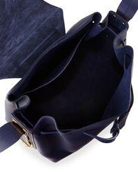 Sophie Hulme Black Claremont Leather Cross-Body Bag
