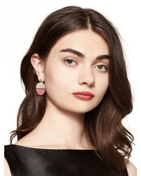 kate spade new york - Multicolor Sugarcoated Stone Drop Earrings - Lyst