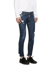 DSquared² - Blue Gold Rush Clement Jeans for Men - Lyst