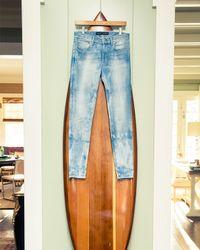 Ralph Lauren Black Label - Blue 400 Matchstick Distressed Denim Jeans - Lyst