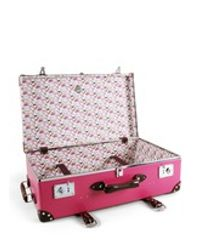 """Globe-Trotter - Pink Candy 28"""" Suitcase With Wheel - Lyst"""