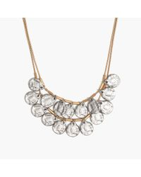 Madewell | Metallic Coinseal Statement Necklace | Lyst